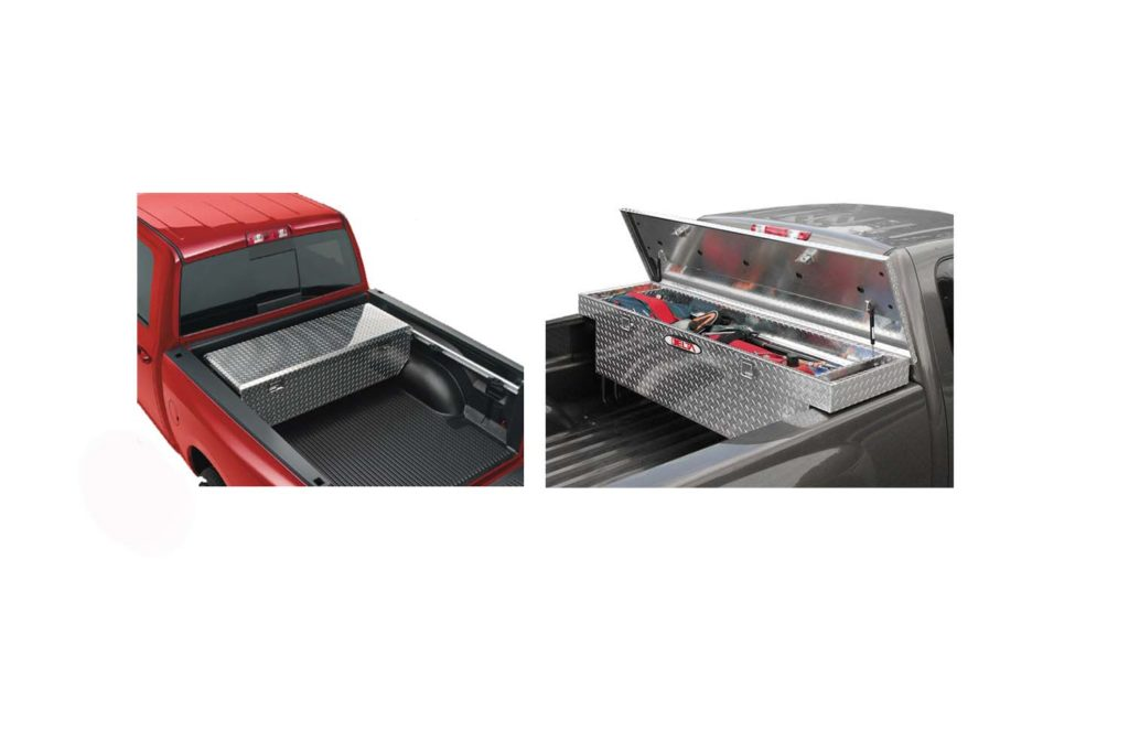 how to install a truck tool box without drilling