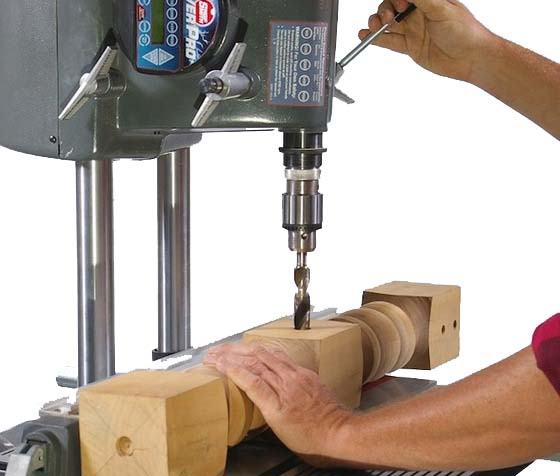 how to use a drill press for metal